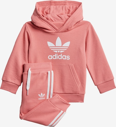 ADIDAS ORIGINALS Joggingpak in de kleur Oudroze / Wit, Productweergave