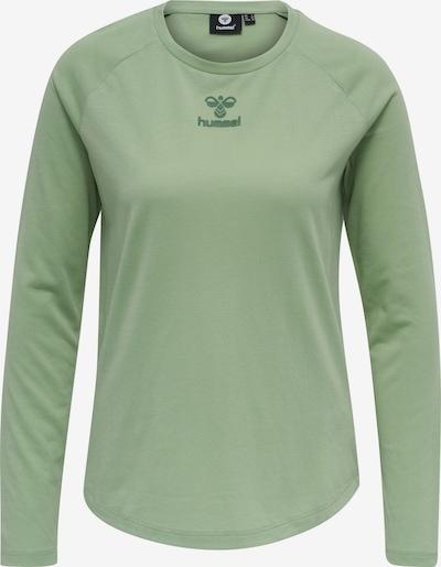 Hummel Shirt 'L/S' in oliv, Produktansicht
