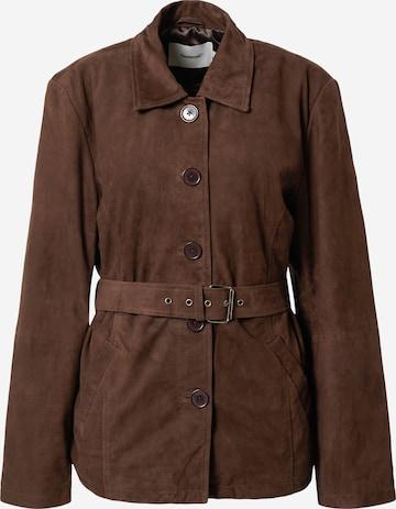 Deadwood Overgangsjakke 'Tyra' i brun