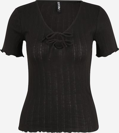 Pieces Tall Shirt 'THEIA' in schwarz, Produktansicht
