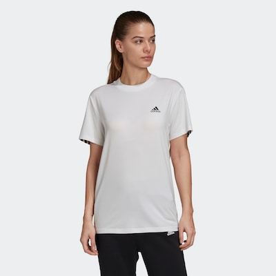 ADIDAS PERFORMANCE Shirt in weiß: Frontalansicht
