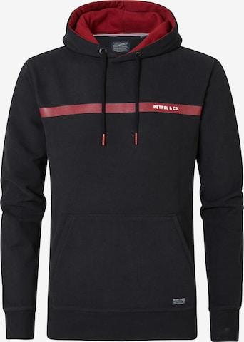 Petrol Industries Sweatshirt in Schwarz