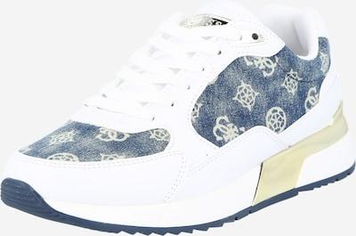 GUESS Nízke tenisky - modrá / biela, Produkt