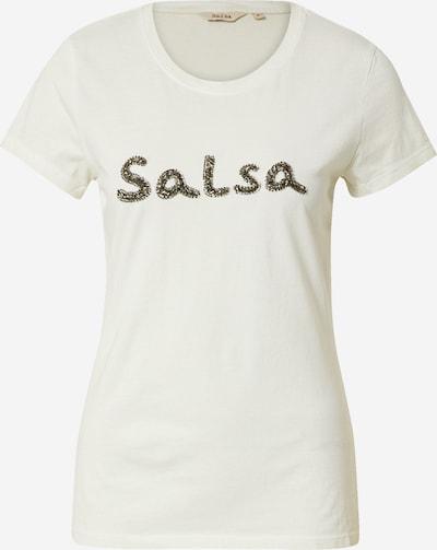 Salsa Shirt in de kleur Beige, Productweergave