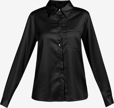 usha BLACK LABEL Blouse in de kleur Zwart, Productweergave