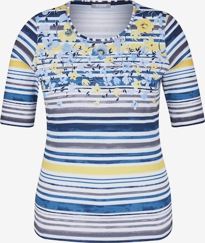 Rabe Shirt in marine / hellgelb / weiß, Produktansicht