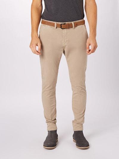 Hailys Men Lærredsbukser 'Tom' i camel / brun, Modelvisning