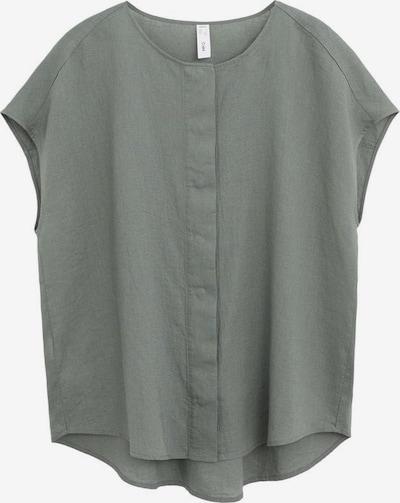 MANGO Bluse in khaki, Produktansicht