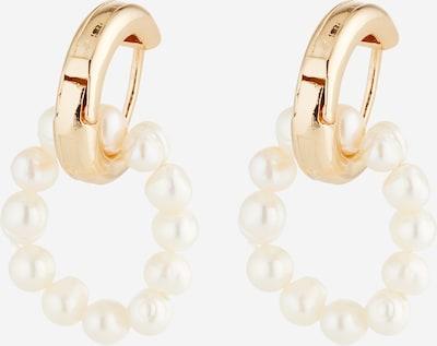 sweet deluxe Pendientes 'Charlize' en oro / blanco natural, Vista del producto