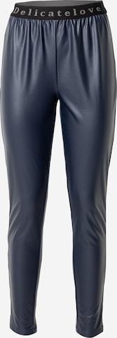 DELICATELOVE Püksid 'Nelli', värv sinine