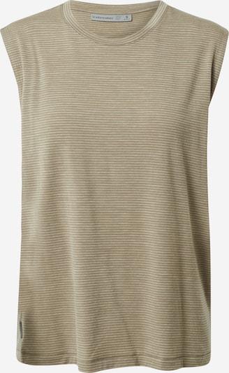 Sportiniai marškinėliai be rankovių iš Icebreaker , spalva - kremo / ruda, Prekių apžvalga