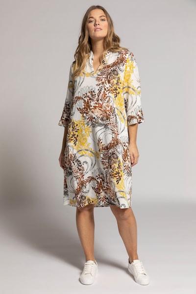 Ulla Popken Kleid in mischfarben / weiß, Modelansicht