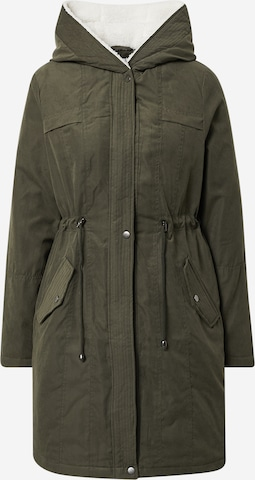 ABOUT YOU Winterparka 'Catherine' in Groen