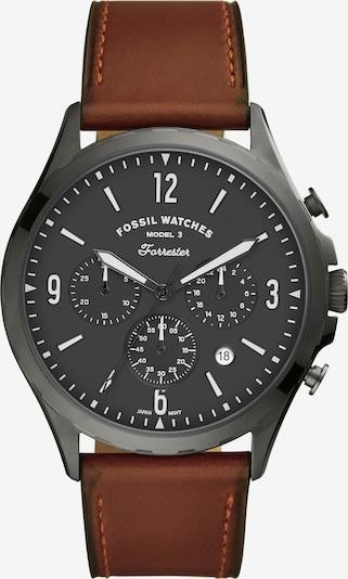 FOSSIL Uhr 'Fossil' in braun, Produktansicht
