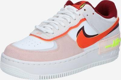 Sneaker low 'Air Force 1 Shadow' Nike Sportswear pe roz / roșu orange / merlot / negru / alb, Vizualizare produs