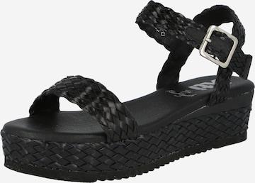 Xti Sandale in Schwarz