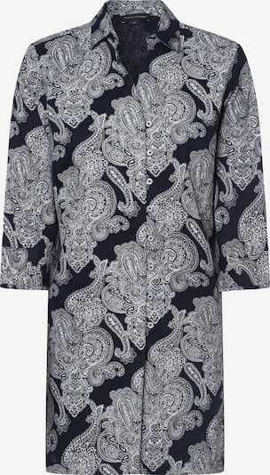 Franco Callegari Bluse in dunkelblau / weiß, Produktansicht