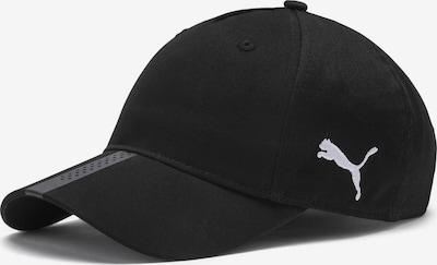 PUMA Sportpet 'Liga' in de kleur Zwart / Wit, Productweergave