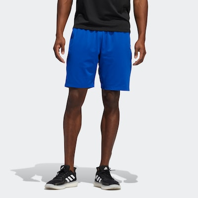 ADIDAS PERFORMANCE ' Tokyo Badge of Sport Shorts ' in blau / weiß: Frontalansicht