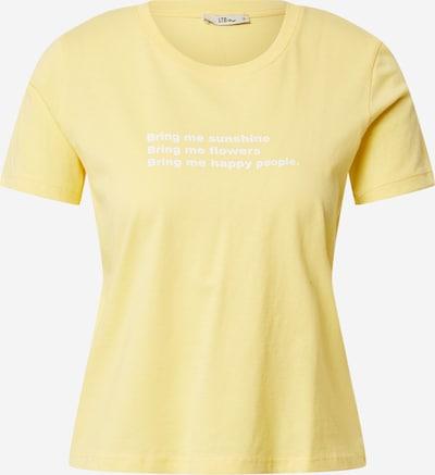 LTB T-Shirt 'NAGILA' in gelb / weiß, Produktansicht