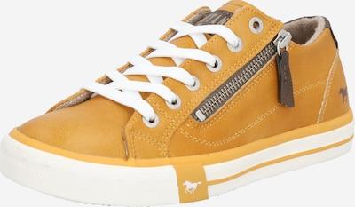 Sneaker bassa MUSTANG di colore ocra, Visualizzazione prodotti