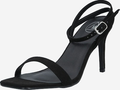 Missguided Strap sandal 'Barely There' in Black, Item view