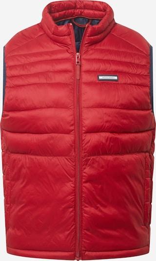 JACK & JONES Bodywarmer 'Ace' in de kleur Rood, Productweergave