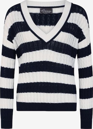 PRINCESS GOES HOLLYWOOD Pullover in blau / schwarz, Produktansicht