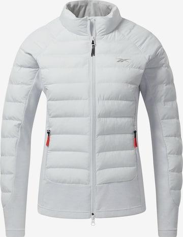 Reebok Sport Athletic Jacket 'DMX' in Grey