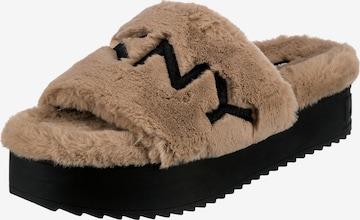 DKNY Mules in Brown