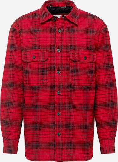 Geacă de primăvară-toamnă Calvin Klein Jeans pe roșu / negru, Vizualizare produs