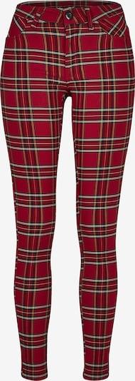 Pantaloni Urban Classics di colore arancione / rosso / nero / bianco, Visualizzazione prodotti