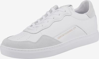 ARMANI EXCHANGE Trampki niskie w kolorze jasnoszary / białym, Podgląd produktu