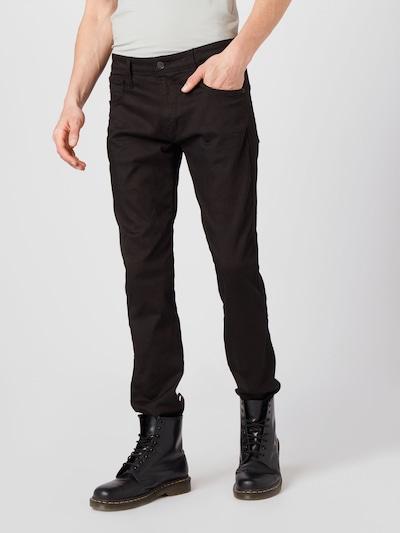 REPLAY Jeans 'ANBASS' in black denim, Modelansicht