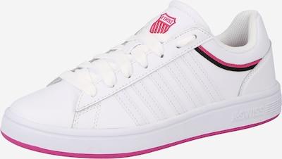 K-SWISS Sneakers laag 'Court Winston' in de kleur Pink / Zwart / Wit, Productweergave