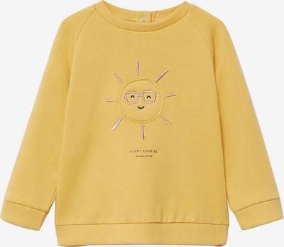 MANGO KIDS Sweater majica 'MIRES' u senf / limun: Prednji pogled