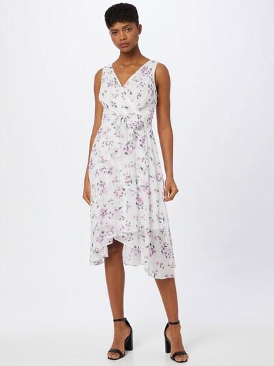 DKNY Kleid in dunkelgrau / rosa / weiß, Modelansicht