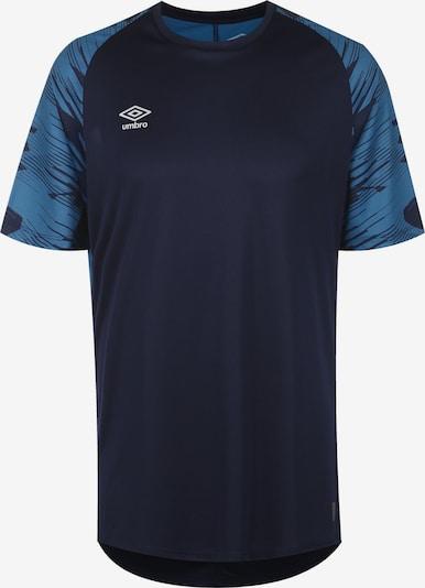 UMBRO Fußballtrikot in kobaltblau / dunkelblau, Produktansicht