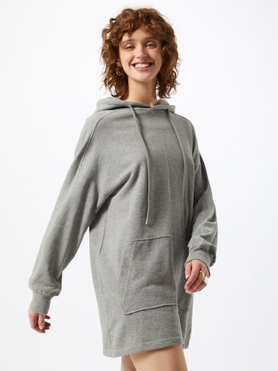 Bizance Paris Oversized dress in Grey mottled, View model