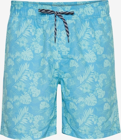 BLEND Kratke kopalne hlače | modra / turkizna / svetlo modra barva, Prikaz izdelka