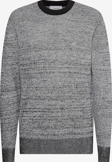 Calvin Klein Trui in de kleur Grijs gemêleerd / Zwart gemêleerd, Productweergave
