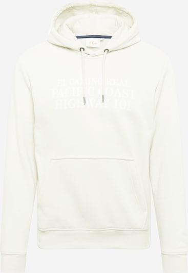 s.Oliver Sweater majica u prljavo bijela, Pregled proizvoda