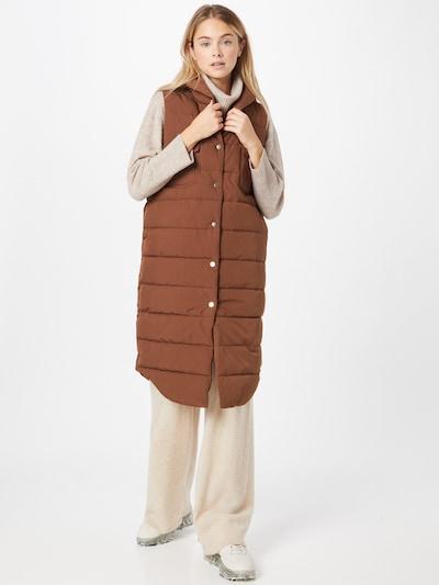 Rich & Royal Vest in Brown, View model