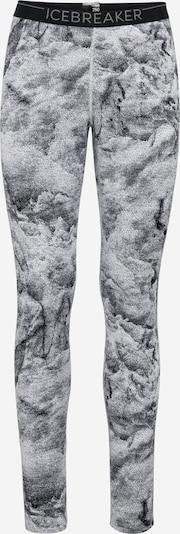 Icebreaker Sportunterhose 'Vertex' in schwarz / weiß, Produktansicht