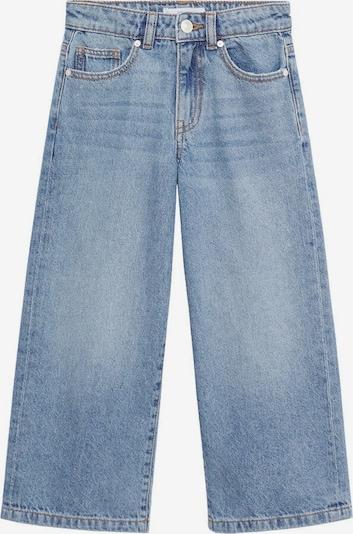 MANGO KIDS Jeans in kobaltblau / braun, Produktansicht