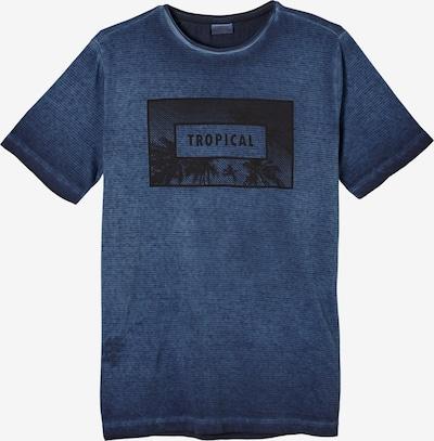 s.Oliver Shirt in de kleur Blauw / Zwart, Productweergave