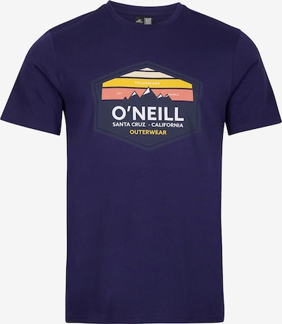O'NEILL Shirt in Navy / Orange / Coral / White, Item view
