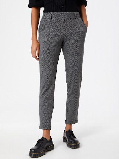 Pantaloni TOM TAILOR pe gri / negru, Vizualizare model
