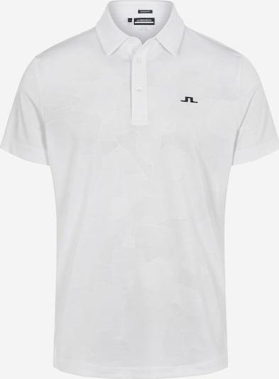 J.Lindeberg Functioneel shirt 'Hendrik' in de kleur Zwart / Wit, Productweergave