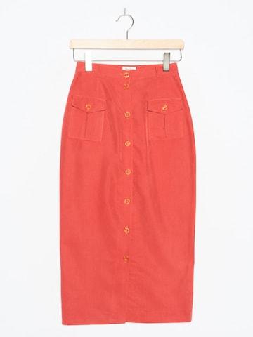 BURTON Skirt in XS x 33 in Red
